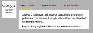 debt-advisors-customer-review-sept-2015