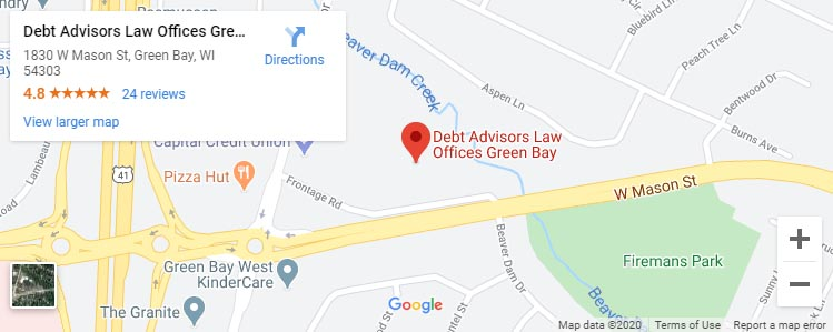 Debt Advisors Law Offices Green Bay